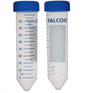 Centrifuge/Falcon Tube 50ml con 50's