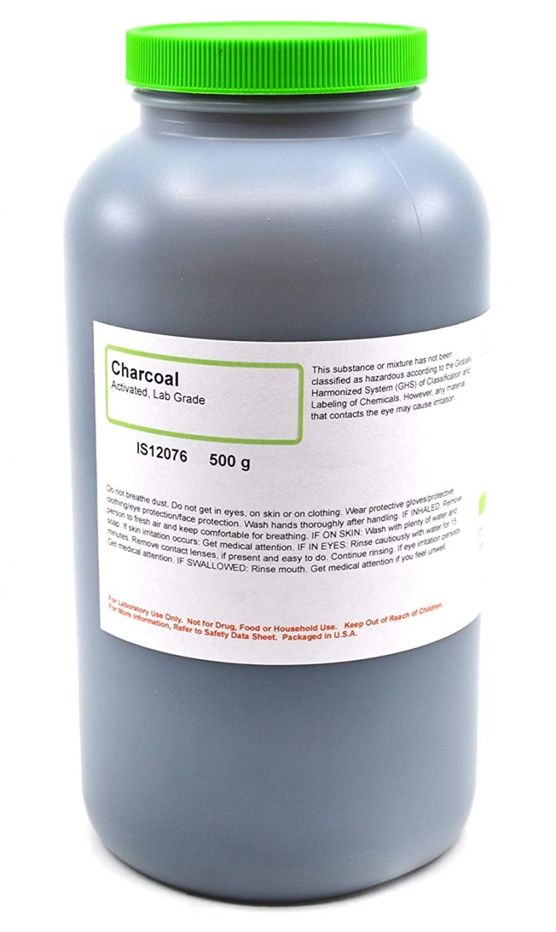 Charcoal activated powder 500g