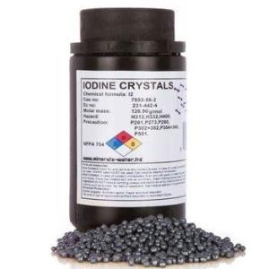 Iodine crystals 500g