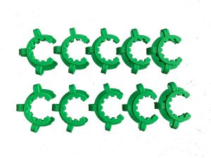 Keck Clip for Conical Joint POM KC NS24 Green 286336503