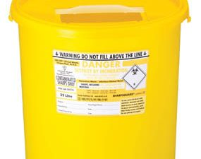 Sharps Container Disposal 10L