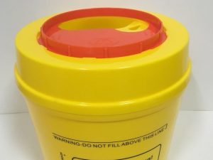 Sharps Container Disposal 2.5L