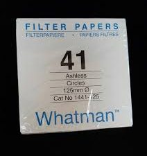 Whatman Quantitative Filter Paper Grade 41