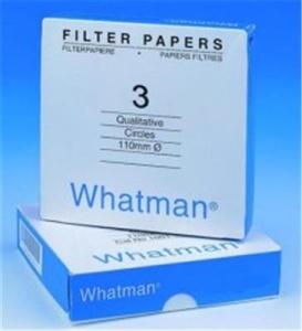 Whatman Qualitative Filter Paper Grade 3,6 μm