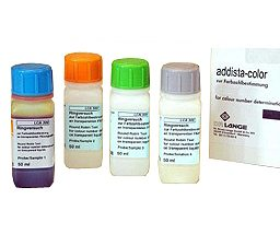 Addista color Set of 6 certified standard color solutions for Lico