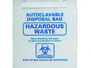 Autoclavable bags 310 x 360mm, Clear, pack of 200