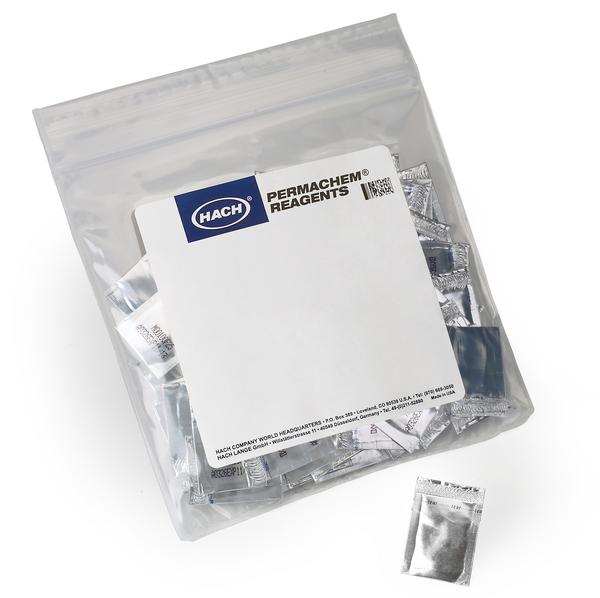 PhosVer® 3 Phosphate Reagent Powder Pillows, 10 mL, pk:100.