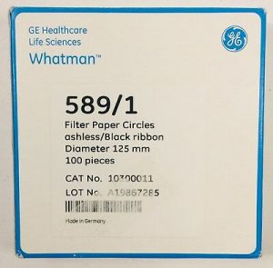 Whatman Filter Paper 589:1