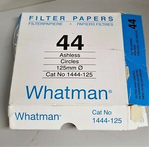 Whatman Quantitative Filter Paper Grade 44